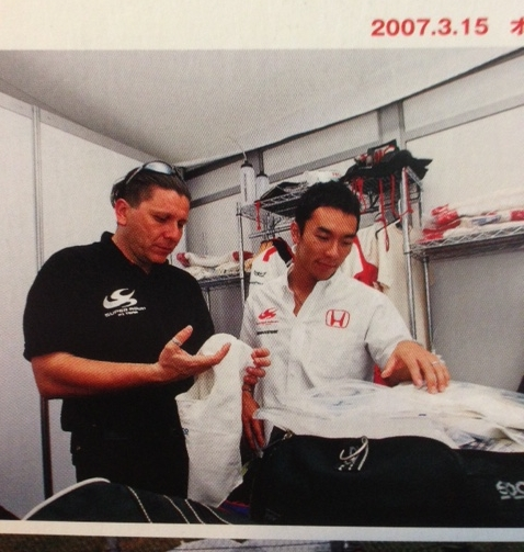 physiotherapist Alfredo Dente, Honda