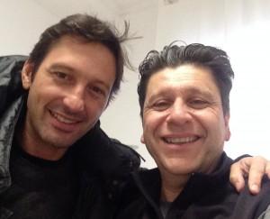 Leonardo Araújo and Alfredo Dente selfie