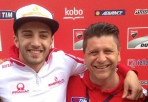 Andrea Iannone and Alfredo Dente