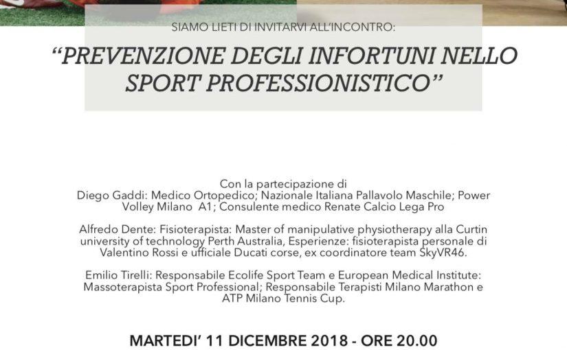 Prevenzione degli infortuni nello sport professionistico: @Milan