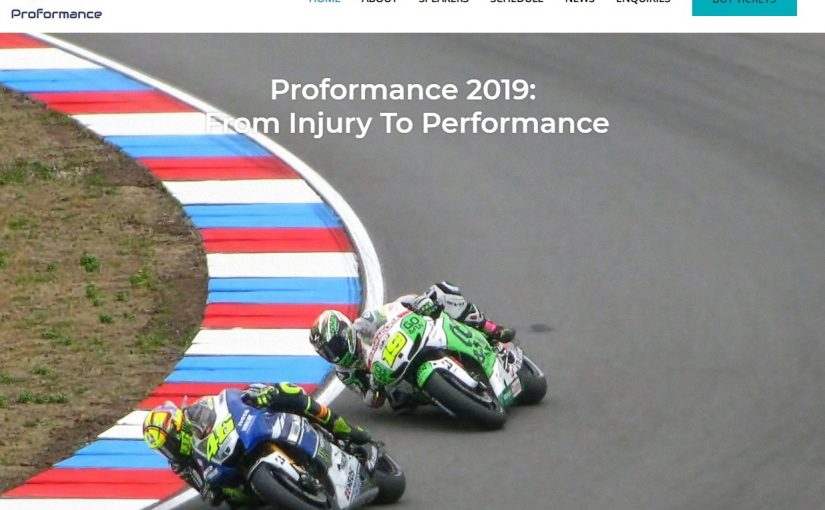 Proformance 2019 and Alfredo Dente